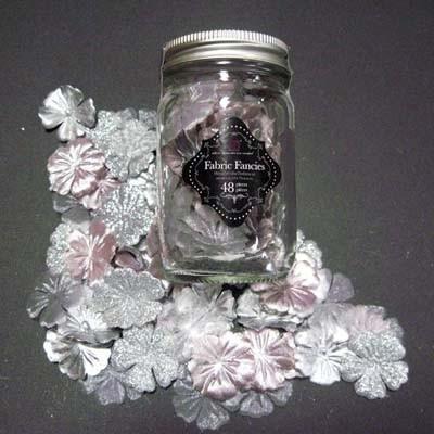 Primaflowers set 15 * zilverkleur -