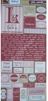 Stickers: Love - 7Gypsies