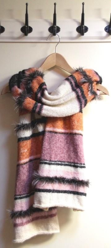 Gebreide shawl, gebreid, gratis patroon