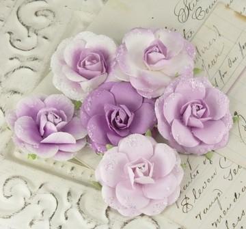 Love Letter Roses Lilac - Prima Marketing * 542764