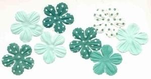 Primaflowers set 17 - esprit aqua