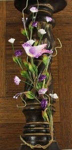 Songbird vine fabric purple - Prima Marketing * 539030