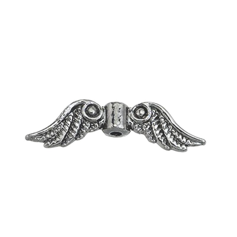 Engelvleugel kraal Antiek zilver