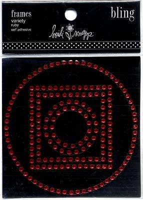 Bling frames variety ruby - Heidi Swapp * 64109