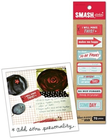 Smash stickies red and blue - K&Company * 30614987