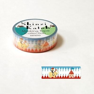 Masking tape Pop Circus - Shinzi Katoh * MKT5089