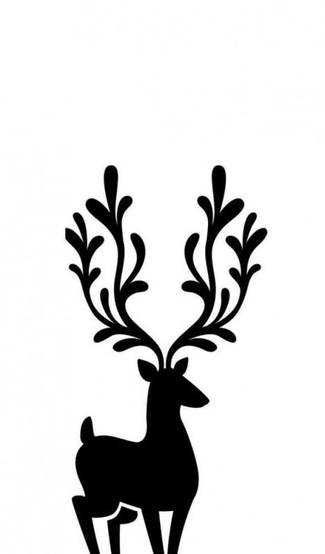 Embossingmal Reindeer - Darice * EB12