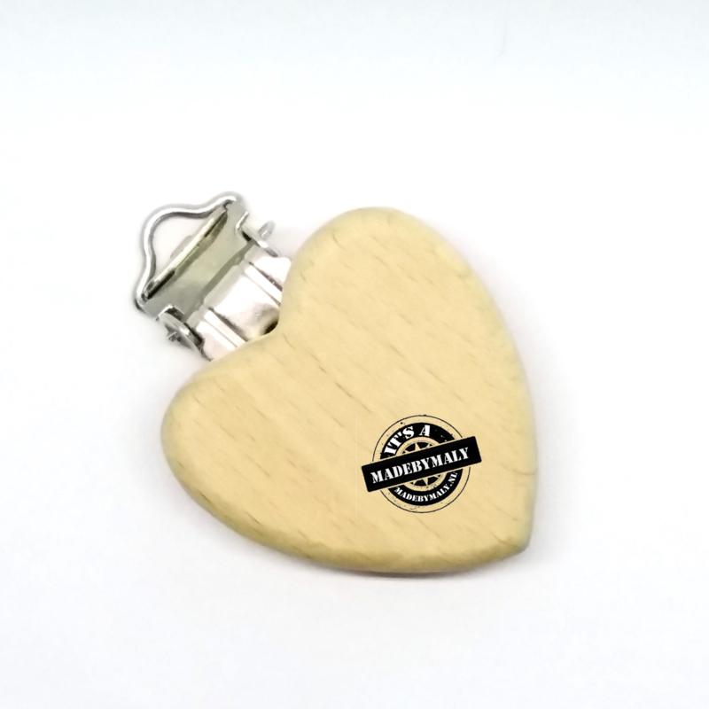 Speenclip hout, hart 35 mm