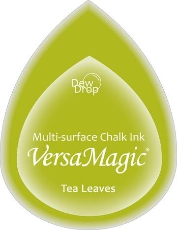 Dew Drop tea leaves - Versamagic  * GD-060