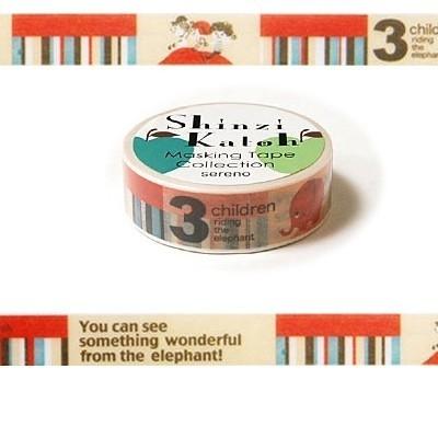 Masking tape 3 Children - Shinzi Katoh * MKT5080