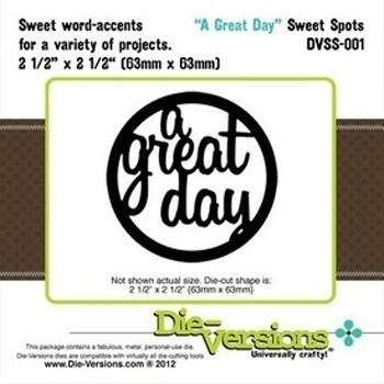 A great day - Die-Versions * 61701