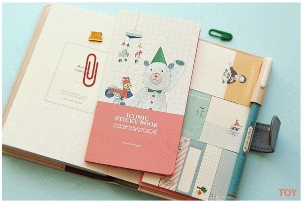 Iconic Sticky Book - Toy