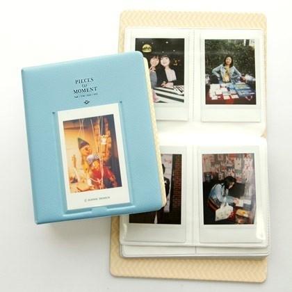 Sky Blue Iconic instax mini polaroid album