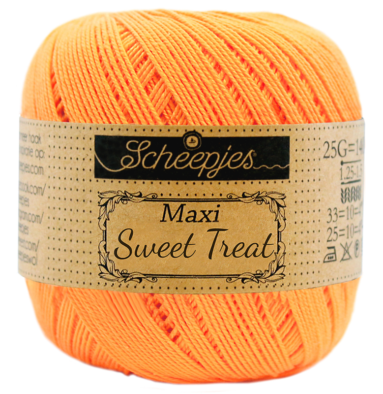 411 Sweet orange - Maxi Sweet Treat 25 gram - Scheepjes