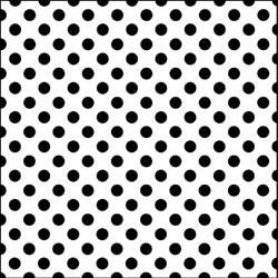 "6x6 "" Mask template Mini swiss dot - The Crafters Workshop * TCW246s"