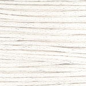 Waxkoord off white 1 mm. dik, per meter