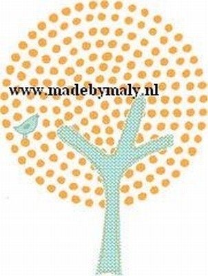 Iron Ons Orange Tree - Prima Marketing * 920265