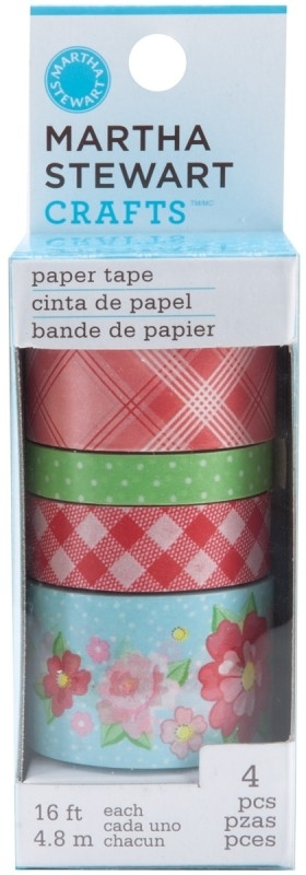 Vintage girl paper tape - Martha Stewart *   M4100172 wordt zonder verpakking verzonden