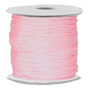 Draad macramé 0.7mm licht roze, 5 meter