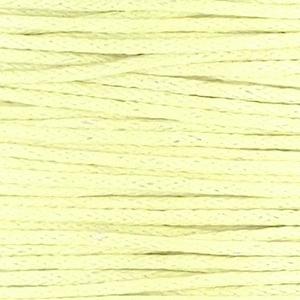 Waxkoord pastel yellow 1 mm. dik, per meter