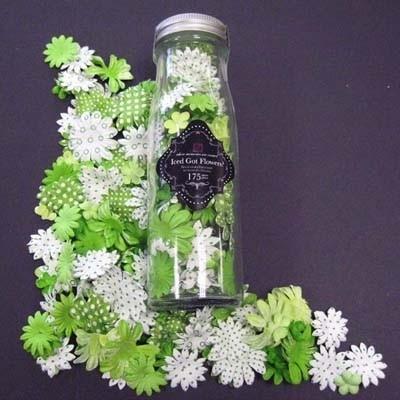 Primaflowers set 7 * Fresh green - 20 bloemen