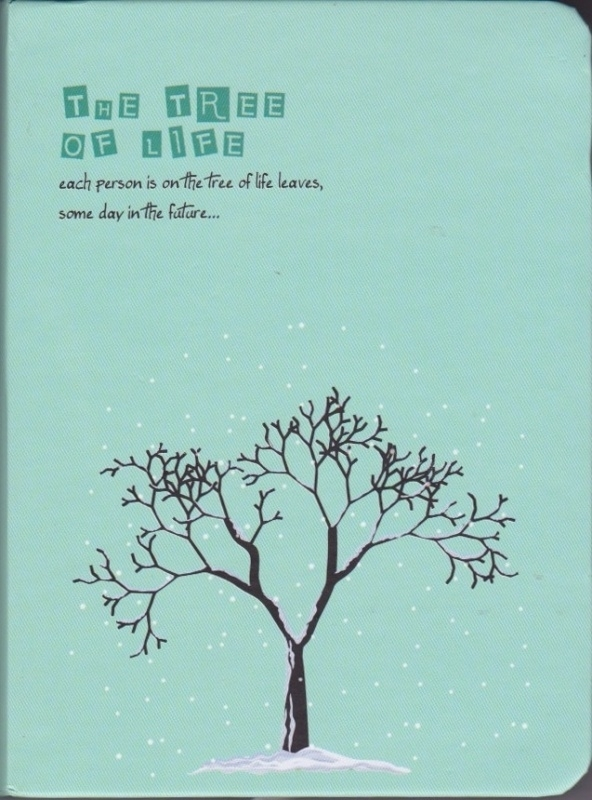 The tree of life diary planner - winter