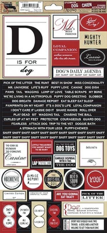 Stickers: Dog - 7Gypsies * 299341