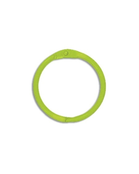 Sleutelhanger, Bindring lime (per stuk) - Creative Imaginations * CI 21042