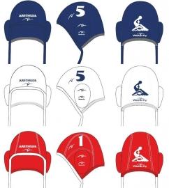 Waterpolocaps ontwerpen - set 26 stuks (Waterfly)