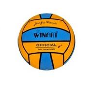 Waterpolobal geel/blauw - MINIPOLO (Winart)