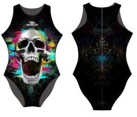 Waterpolobadpak Skull (Swimlife)