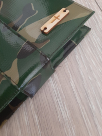 Bijbelhoes camouflage jong vivella
