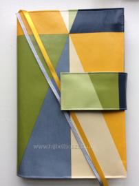 Origami forest bijbelhoes (zonder sluiting) voor HSV basis