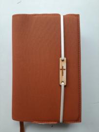 Bijbelhoes orange silverguard