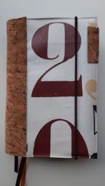 Ruben bijbelhoes met rug van kurk ( (cijfers en letters))