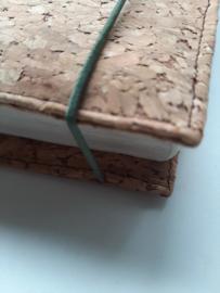 Kurk bijbelhoes met kurk flower rug