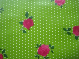 Dots and Rose groen bijbelhoes