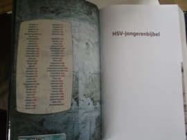 Indexvak voor  jongerenbijbel HSV