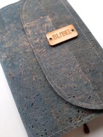 Bijbelhoes van Jeanskurk met omslag inclusief magneetsluiting