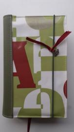 Bijbelhoes Britt (cijfers en letters) green edition