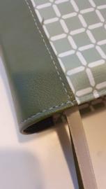 Oud groen wafel  olive bijbelhoes (HSV huisbijbel))