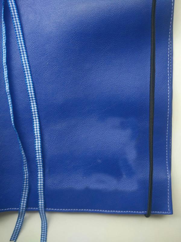 Kobalt blauw bijbelhoes NBV schrijfbijbel