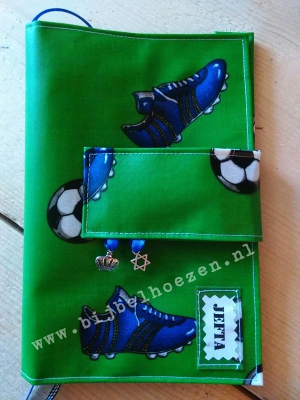 Bijbelhoes Jefta voetbal inclusief magneetsluiting