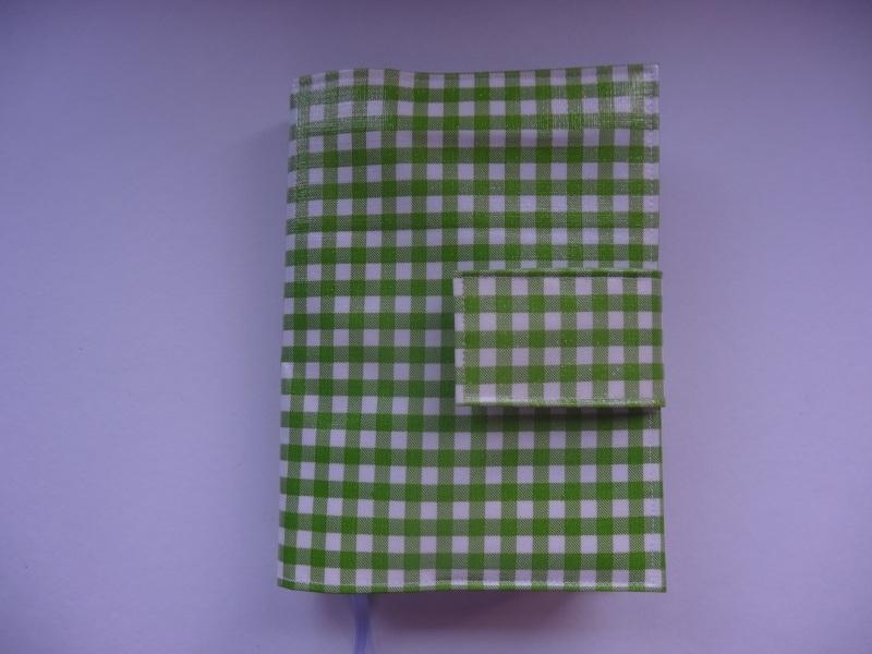 Mini ruit groen Bijbelhoes voor HSV jongeren/vivella