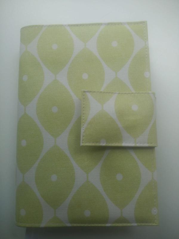 Lime-groen retro bijbelhoes