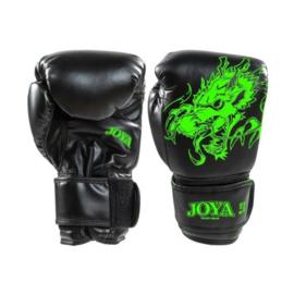 Joya Dragon Kickbokshandschoenen PU – Neon Groen
