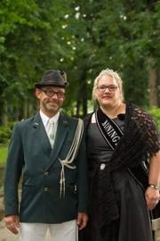 Schutterskoningin en Adjudant van Overdinkel