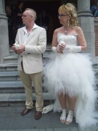 Bruidsjurk van Brenny