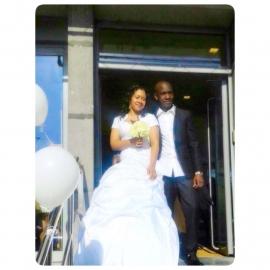 Sissi trouwjurk van Raquel