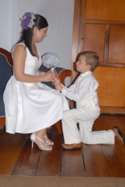 Korte trouwjurk van Mariana